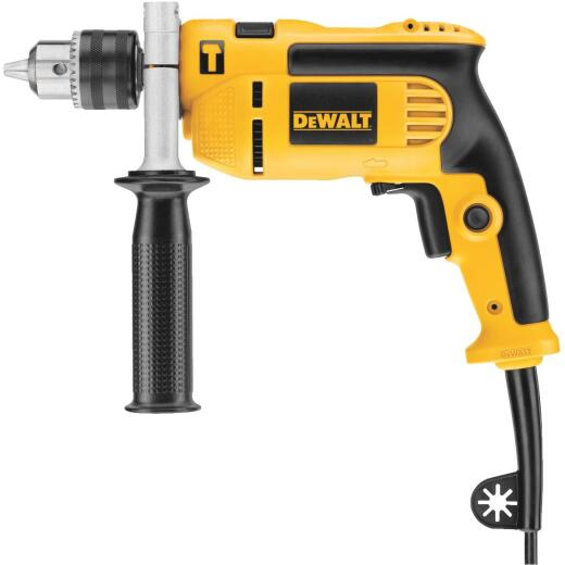 DeWalt 1/2 In. Keyed 7.0-Amp Single Speed Electric Hammer Drill