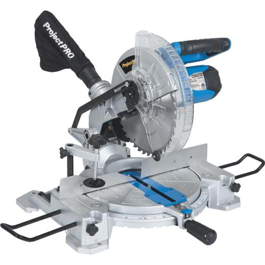Project Pro 10 In. 15-Amp Compound Miter Saw