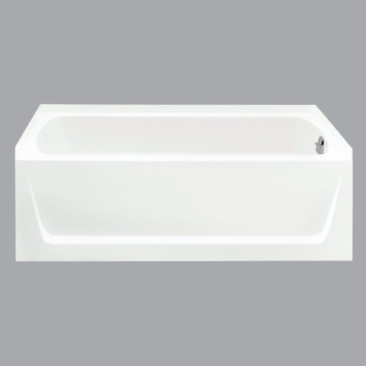 Sterling Ensemble 70012 Series 60 In. L X 32 In. W X 20 In. D Right Drain Bathtub in White