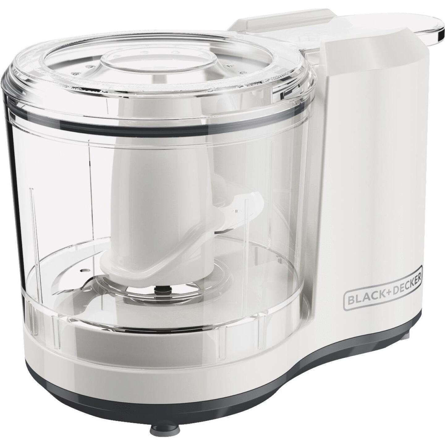 Black & Decker 1.5 Cup One-Touch Food Chopper Image 1
