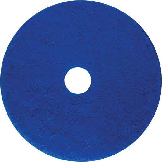 Lundmark 13 In. Abrasive Blue Polishing Pad