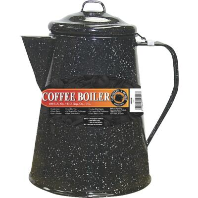 GraniteWare 12 Cup Black Coffee Boiler