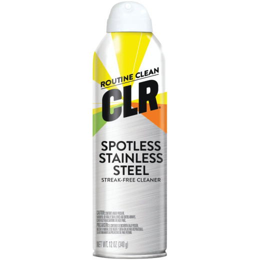 CLR Spot-Free 12 Oz. Stainless Steel Cleaner