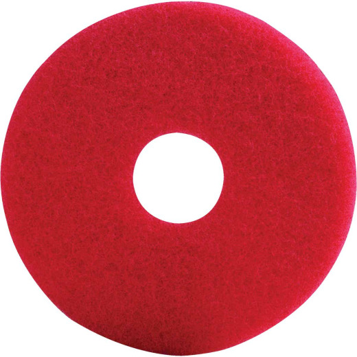 Lundmark 17 In. Red Scrub Pad