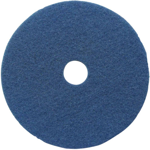 Lundmark 17 In. Abrasive Blue Polishing Pad