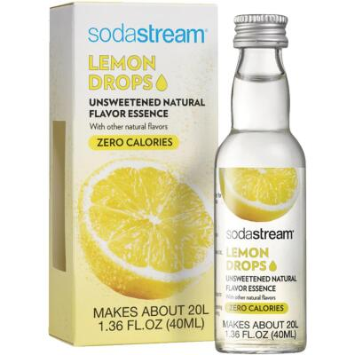 SodaStream 1.36 Oz. Lemon Sparkling Water Fruit Drops