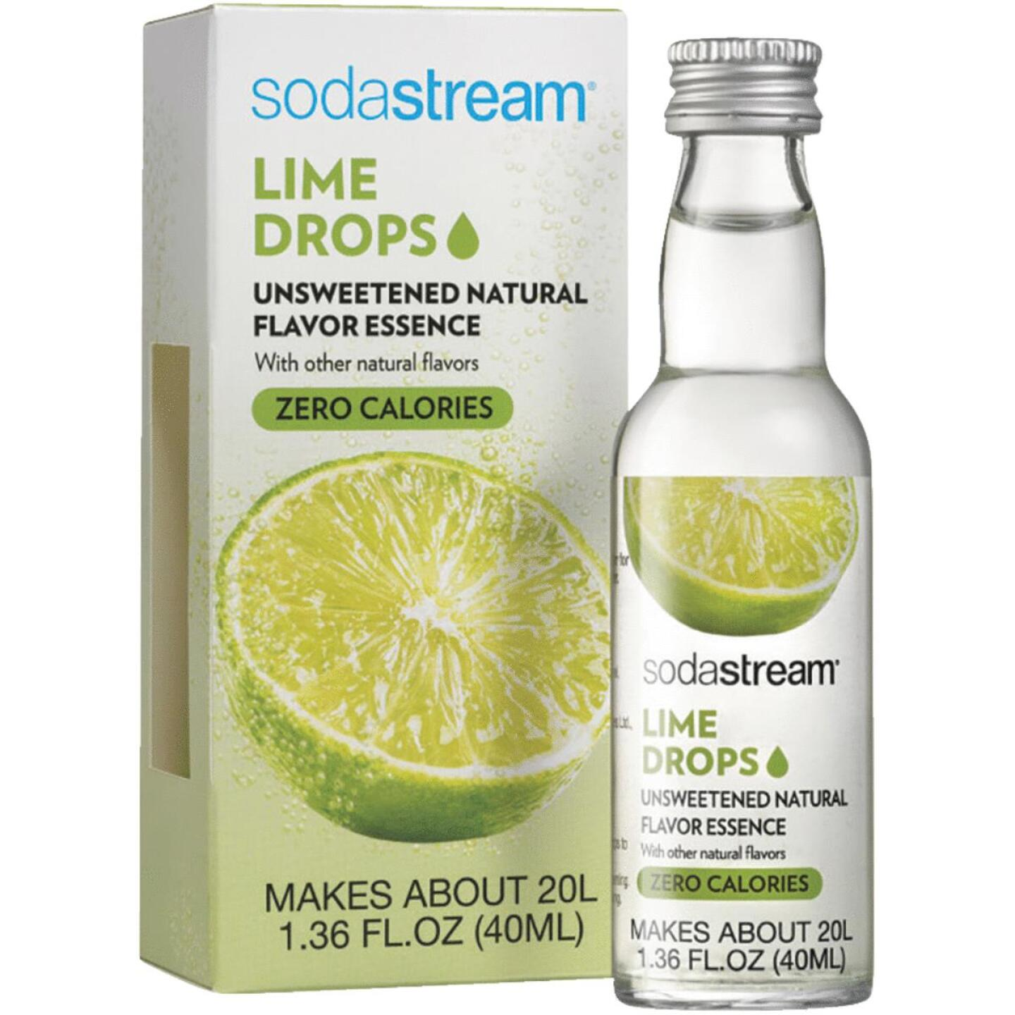 SodaStream 1.36 Oz. Lime Sparkling Water Fruit Drops Image 1
