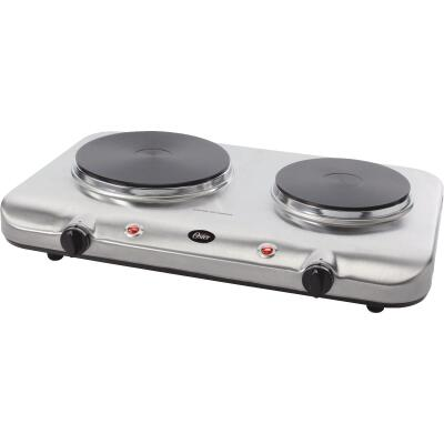 Oster Double Stainless Steel Burner Range