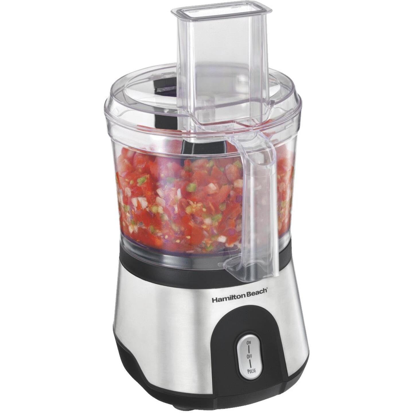 Hamilton Beach 10-Cup Stainless Steel Food Processor Image 1