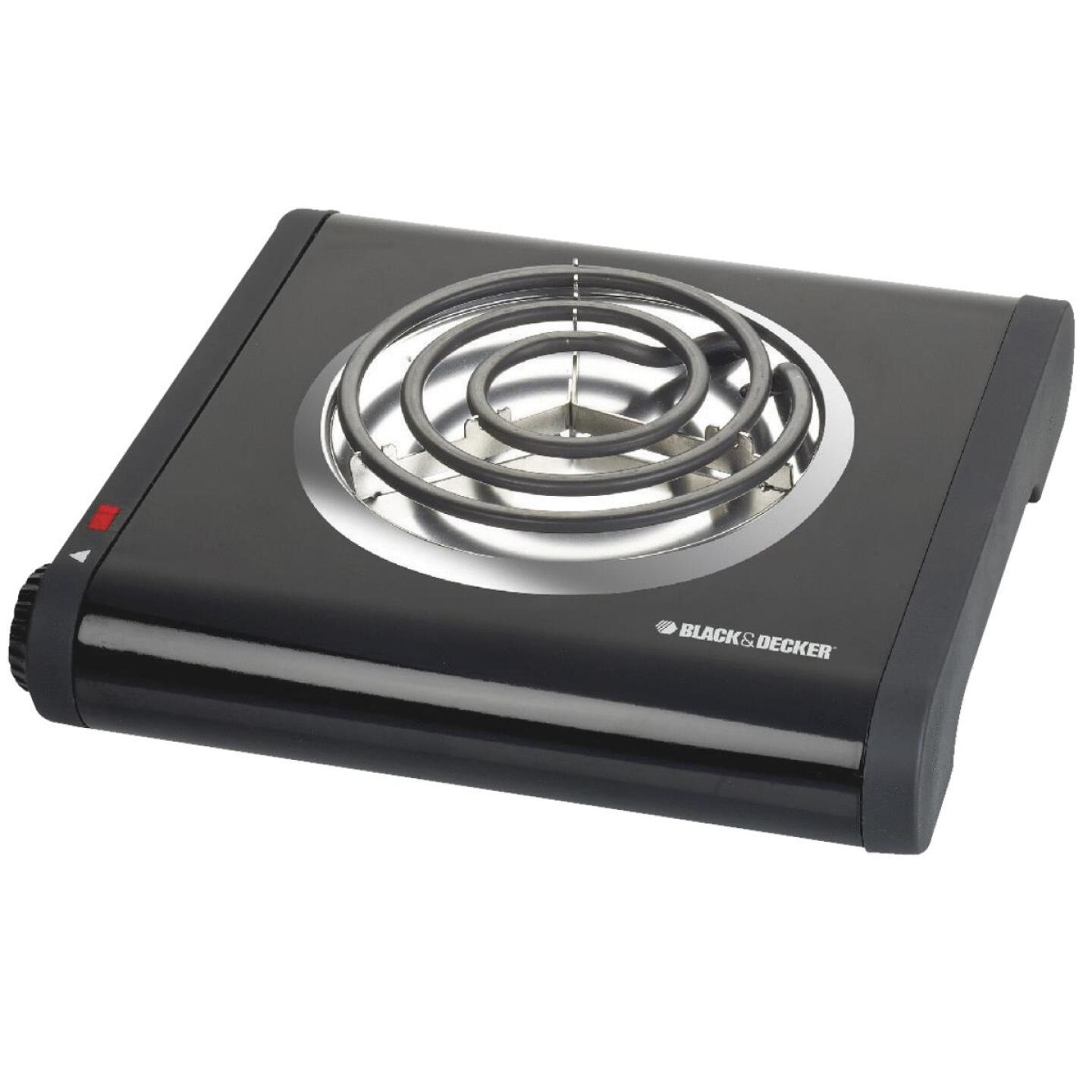 Black & Decker Single Coiled Burner Range Image 1