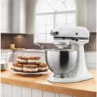 KitchenAid Classic Plus 10-Speed White Stand Mixer Image 2