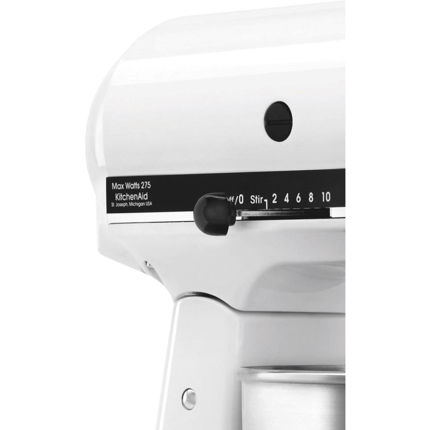 KitchenAid Classic Plus 10-Speed White Stand Mixer Image 4