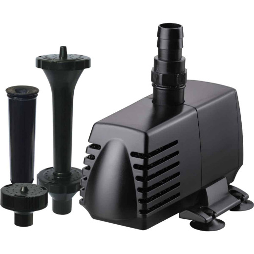 PondMaster Eco 590 GPH 3/4 In. Pond Pump & Fountain Head Kit