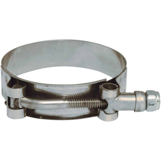 Apache 1-15/16 In. x 2-3/16 In. Stainless Steel T-Bolt Clamp