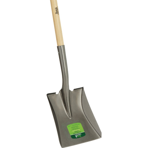 Best Garden 44 In. Wood Handle Square Point Shovel