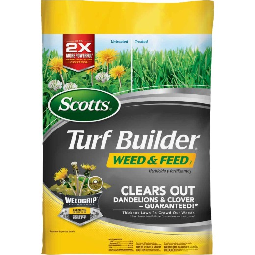 Scotts Turf Builder Weed & Feed 14.54 Lb. 5000 Sq. Ft. 28-0-3 Lawn Fertilizer with Weed Killer
