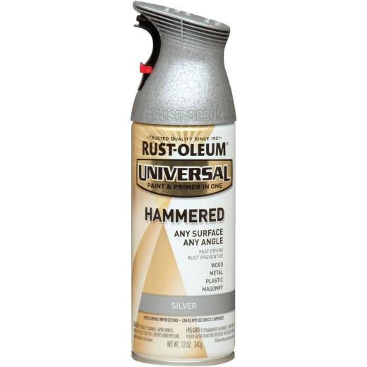 Rust-Oleum Universal 12 Oz. Hammered Silver Paint