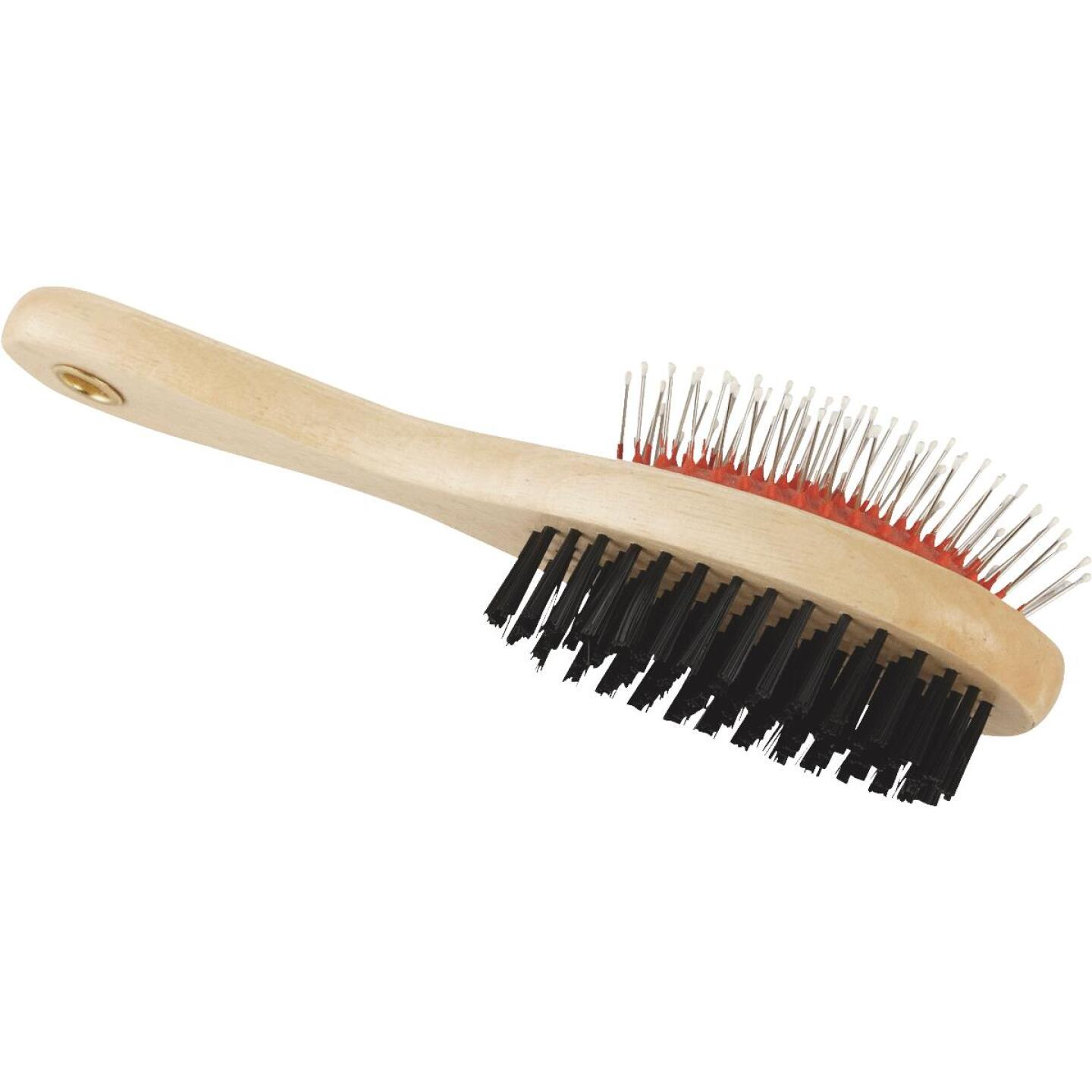 Smart Savers Plastic & Metal Bristle Pet Brush Combo Image 2