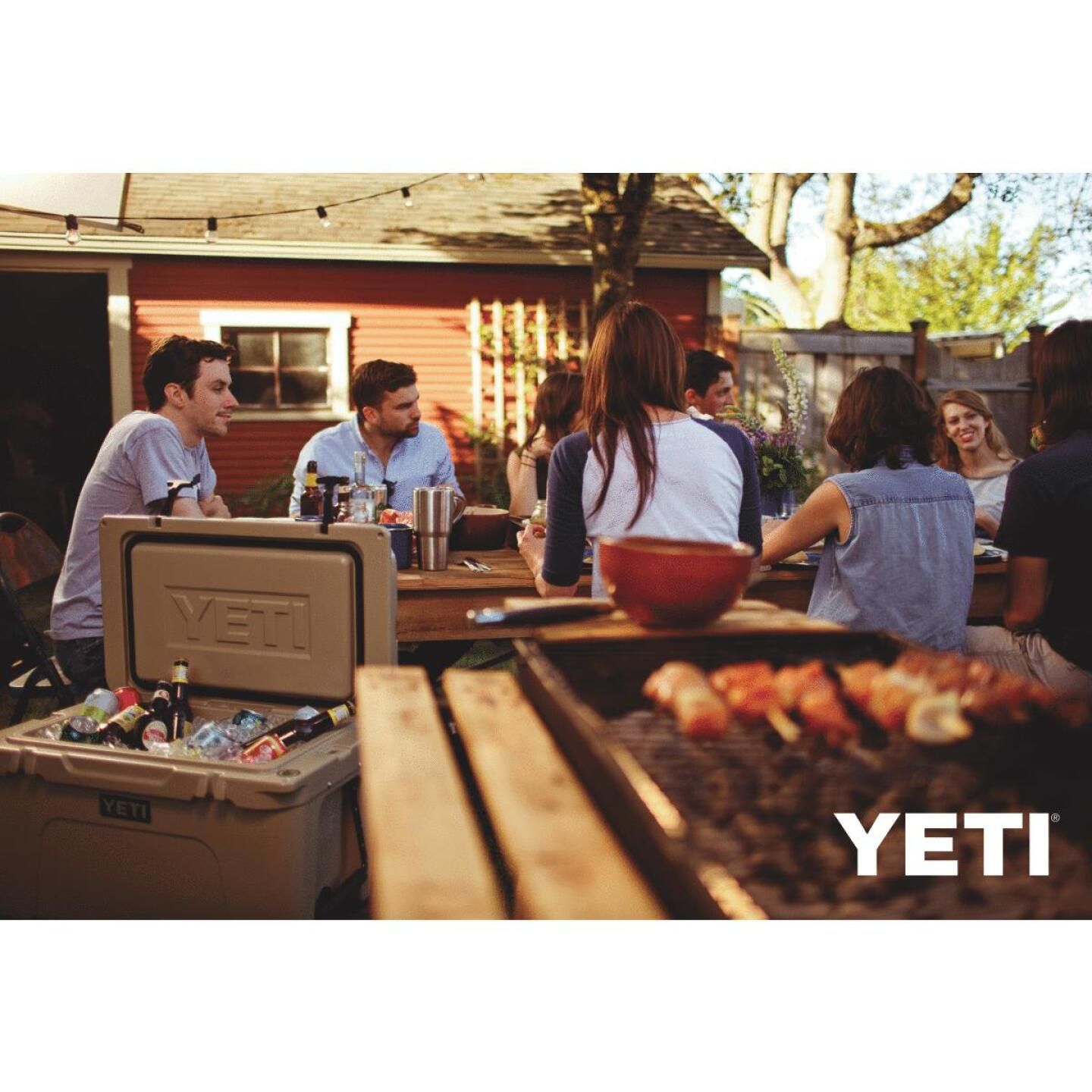 Yeti Tundra 45, 28-Can Cooler, Tan Image 4