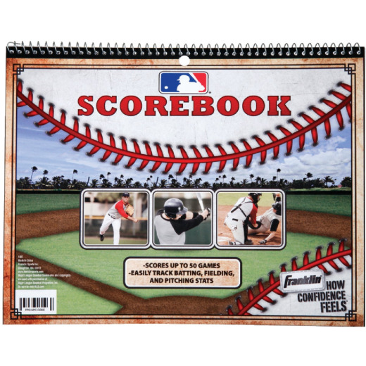 Franklin Baseball and Softball Score Book