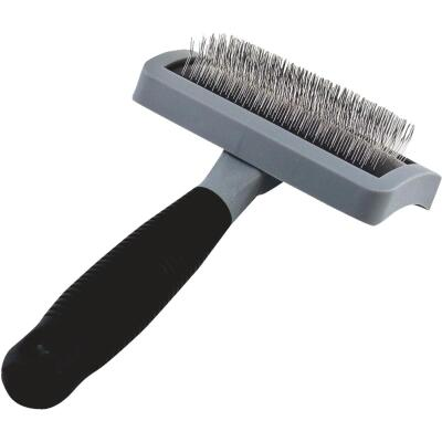 Westminster Pet Ruffin' it Metal Bristle Pet Grooming Slicker Brush