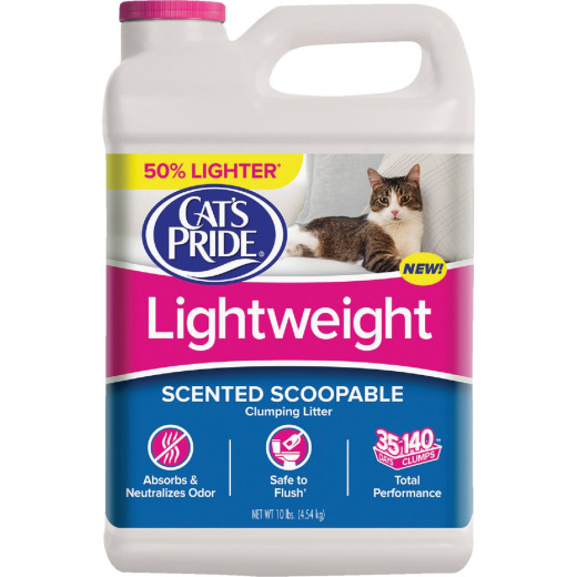 Cat's Pride 10 Lb. Lightweight Cat Litter