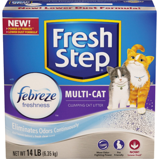 Fresh Step 14 Lb. Odor Control Cat Litter