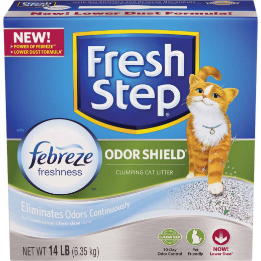 Fresh Step Odor Shield 14 Lb. Odor Control Cat Litter