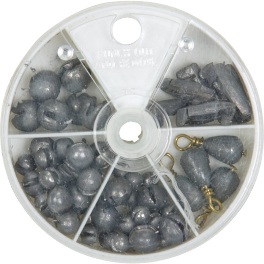 SouthBend 72-Piece Sinker Kit Assortment
