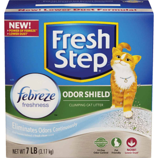 Fresh Step Odor Shield 7 Lb. Odor Control Cat Litter