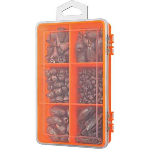 SouthBend 160-Piece Value Pack Sinker Kit Assortment