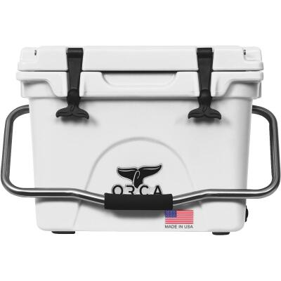 Orca 20 Qt. 18-Can Cooler, White