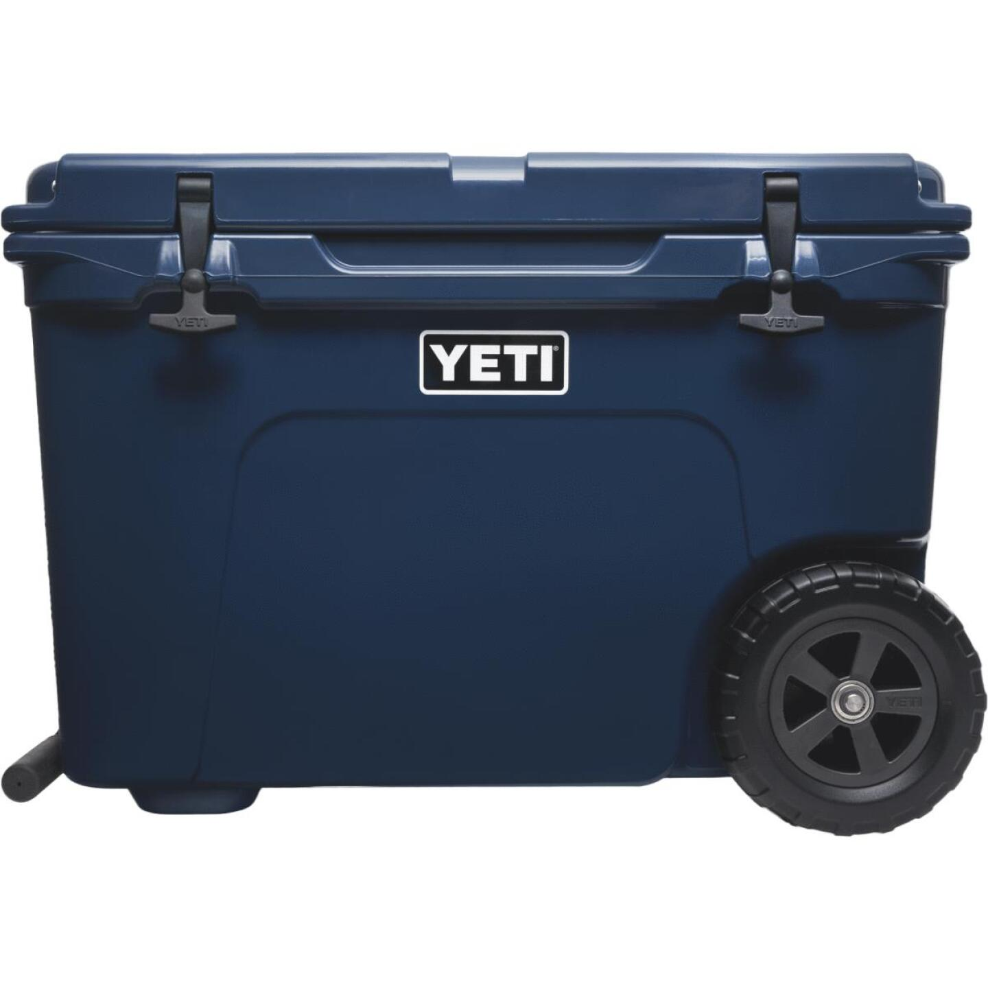Yeti Tundra Haul 45-Can 2-Wheeled Cooler, Navy Image 1