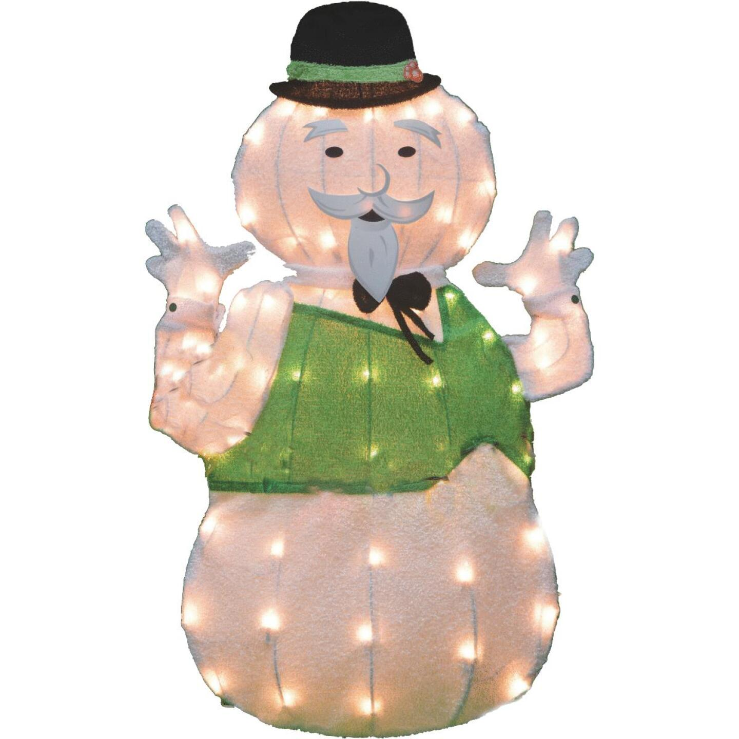 Product Works 32 In. Incandescent Sam The Snowman Holiday Figure Image 1