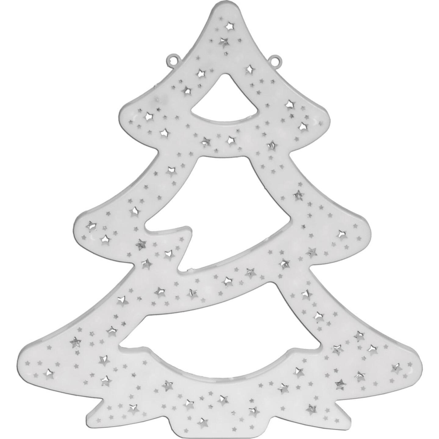 Alpine 16 In. H. Flashing Multi LED Lighted Christmas Tree Image 1