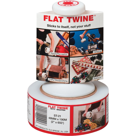 Nifty Flat Twine 2 In. X 650 Ft. Stretch Wrap with Handle
